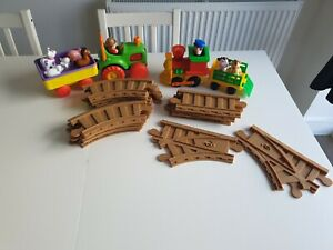 Baby/ toddlerToys Bundle farm animals train and tractor