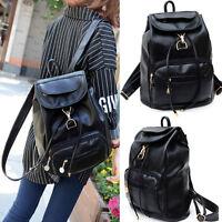New Women's Vintage Backpack Travel Leather Handbag Rucksack Shoulder School Bag
