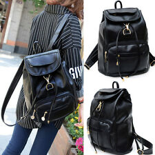 Women's Vintage Backpack Travel Leather Handbag Rucksack Shoulder School Bag New