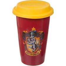 Harry Potter Gryffindor Ceramica 15.2cm Viaggio Tazza Con Coperchio & Ufficiale