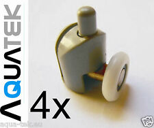 ROULETTES inférieures POUR CABINE DE DOUCHE - 4 pcs 25 mm