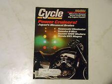 JANUARY 1986 CYCLE MAGAZINE,HONDA V65,SUZUKI 1200,YAMAHA V-MAX,KAWASAKI ELIMINAT