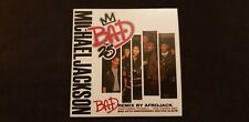 Michael Jackson - Bad Remix by Afrojack - Bad25 HMV Exclusive CD *Very Rare*