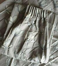 John Lewis MTM Gingko Pencil Pleat Lined Curtains in Smoke