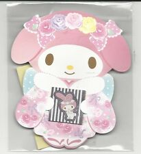 Sanrio My Melody Gift Card Money Holder Set of 4 With Envelope Stickers