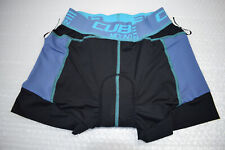 Cube Ws Inner Trouser Lining Size S BLACK / Blue Base Layer