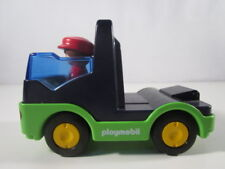 "PLAYMOBIL- ""LOTE DE CAMION CABEZA TRACTORA CON PILOTO 1,2,3 USADO"" - LUJO!"