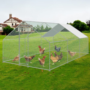 Large Metal Chicken Coop, Walk In Chicken  Cage Coop, animal House