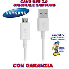 CAVO DATI SAMSUNG ORIGINALE USB 2.0 GALAXY S6 - S6 EDGE G925F G920F BIANCO    ,