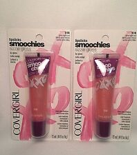2 COVERGIRL Smoochies LIP GLOSSES ~ GIRLS NIGHT OUT 516 ~ NEW