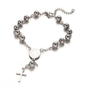Rosary Bracelet Stainless Steel 316L