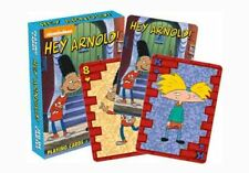 NICKELODEON Retro 90's collection 'HEY ARNOLD!' Playing Cards Licensed