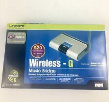 Linksys Wireless-G Wireless Bridge made Cisco Systens WMB54G- Brand new open box