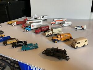 HO Train 1:87 Scale Vehicle Lot Vintage Replica Cars & Trucks Some Contemporary