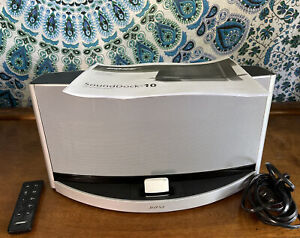 Bose SoundDock 10 Digital Music System iPod Speaker Dock With Bluetooth Adapter