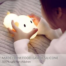 Children Night Light, Soft Puppy, Illuminates when you touch, Rechargeable.
