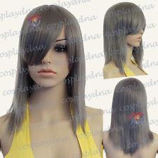 20 inch Ultra Series Hi Temp Gunmetal Grey Layered Long Cosplay DNA Wigs 75171