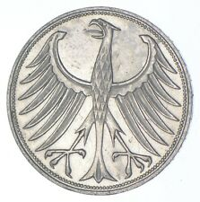 SILVER - WORLD Coin - 1951 Germany 5 Marks - World Silver Coin *899