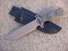 Busse Combat Team Gemini A2 TG A2 Knife Custom Molded Leather Sheath BLACK