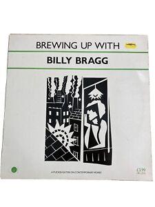 Billy Bragg Brewing Up With Billy Bragg Vinyl LP Ex Condition