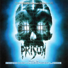 PRISON - COMPLETE SCORE - LIMITED 1200 - OOP - RICHARD BAND / CHRISTOPHER STONE
