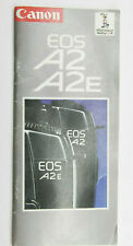Original Canon EOS A2 A2E Sales Pamphlet - Used B166D