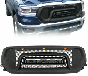 2019  RAM RAPTOR STYLE GRILLE With High Quality Amber Lights