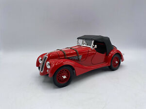 Road Signature 1940 BMW 328 Red Color 1/18 Scale Diecast