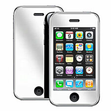 3x QUALITY MIRROR LCD SCREEN PROTECTOR IPHONE 3GS IPOD