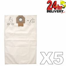 Mirka Dustbag Fleece for 1230 Dust Extractors Range 5/Pack