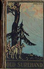 """Karl May Verlag Fehsenfeld Radebeul 15 """" Old Surehand II """"1930-er Jahre"""