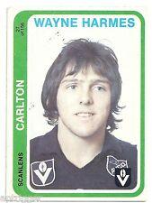 "1979 Scanlens (27) Wayne HARMES Carlton """""