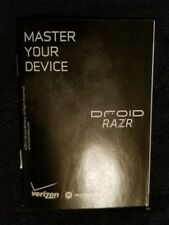 Motorola Droid RAZR Manual Only Smartphone Cell phone Android