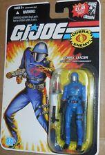 GI Joe 25TH Anniversary Cobra COMMANDER Mosc New Cobra Leader Wave 8