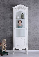 Shelf Shabby Chic Display Case White Cabinet Vintage Wardrobe Shelf Cabinet