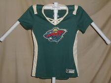 Minnesota Wild  NHL Fan Fashion JERSEY/Shirt by MAJESTIC Womens 2XL   NWT $55