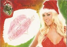 "Benchwarmer 2006 Holiday Series - 7 of 10 ""Yancey Todd"" Kiss Card"