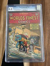 World's Finest #66 CGC 4.5 1953