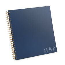 Personalized Initials Wedding Guest Book (55775P)