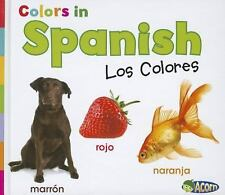 Colors in Spanish: Los Colores (World Languages - Colors)-ExLibrary