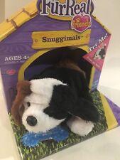 New Retired FurReal Friends Snuggimals Black White Brown Beagle Puppy