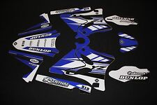 YAMAHA YZ125 - YZ250 2006-2014 PTS3  FLU MX GRAPHICS KIT STICKER KIT STICKERS