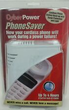 NEW CyberPower PhoneSaver Cordless Phone Battery Back-Up 4 Hrs Surge Protection