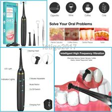 Ultrasonic Dental Scaler Electric Tooth Cleaner Calculus Remover Teeth Whitening