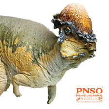 PNSO Pachycephalosaurus Austin Model Hell Creek Dinosaur Animal Collector Decor