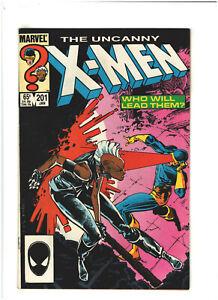 Uncanny X-Men #201 VF 8.0 Marvel Comics 1986 1st Nathan Summers (Cable)