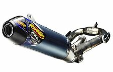 FMF Racing - 044431 - Factory 4.1 RCT Full System, Blue Anodized - Carbon Endcap
