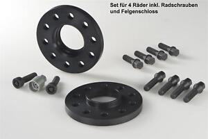 H&R ABE Spurverbreiterung schwarz 24/30 mm Set Skoda Superb (Typ 3U) Spurplatten