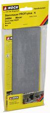 """Noch 34854 - N 1:160 - Wall,19,8 x 7,4 cm,"""" Stone Wall """" - New Original"""