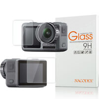 Nacodex For DJI Osmo Action Camera Tempered Glass Screen Protector